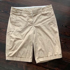 🌴J Crew Khaki Shorts Size 2/4